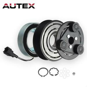 AC A/C Compressor Clutch Kit Pulley Bearing Coil Plate Fit 05 - 14