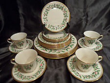 LENOX HOLIDAY 20 PC SET ~ SERVICE FOR 4 ~
