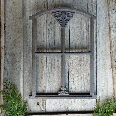 Bauernfenster für Gartenlaube Stallfenster Eisenfenster Gartenmauer 46 x 31cm