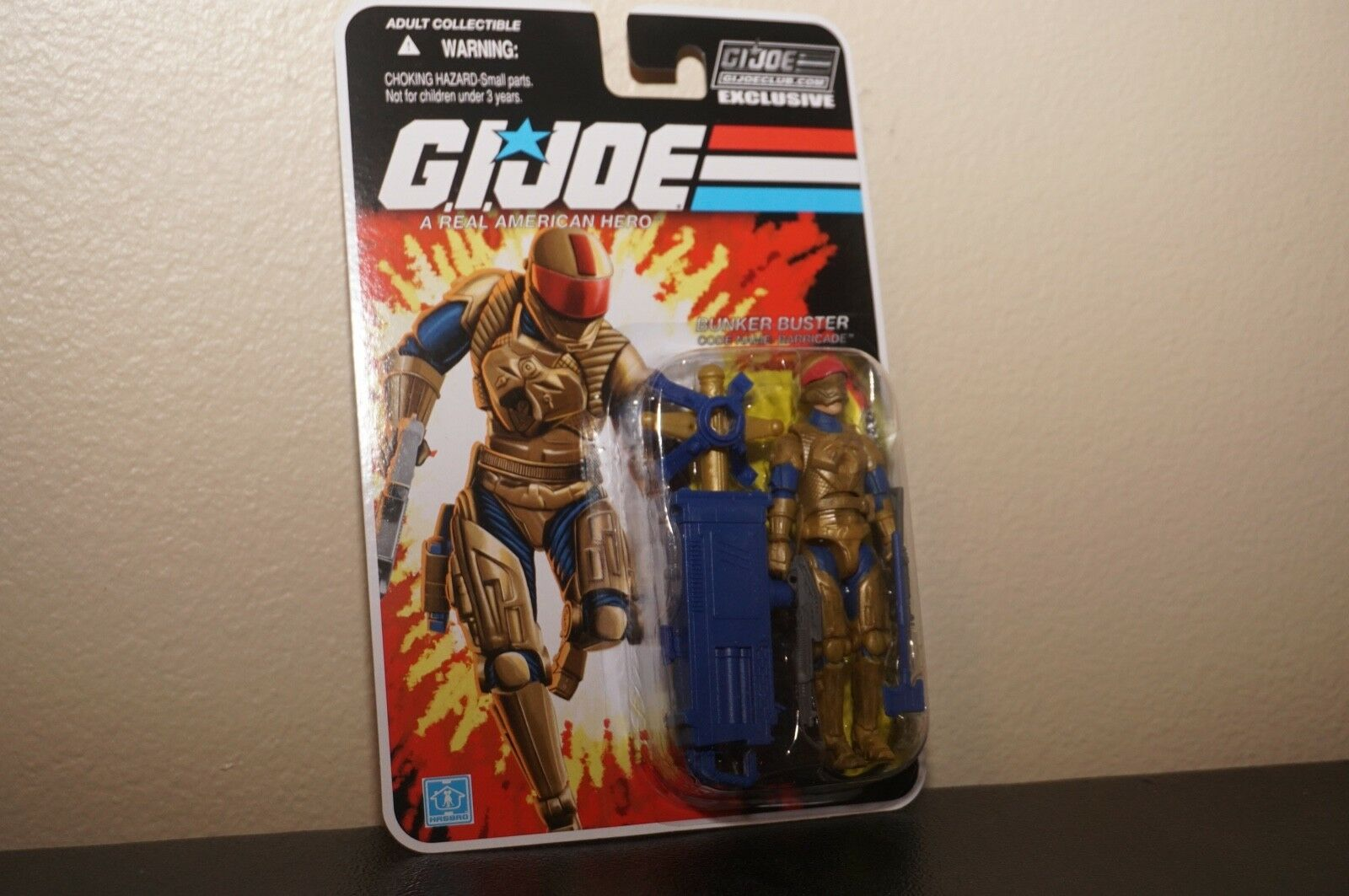 GI JOE BARRICADE FSS 4.0 Con Collectors Club Exclusive Exclusive Exclusive  2016 Rare New 4bf5f8