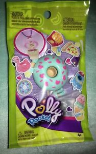 Lila-with-a-Blue-Doughnut-Ring-Polly-Pocket-Tiny-Takeaway-New-In-Package