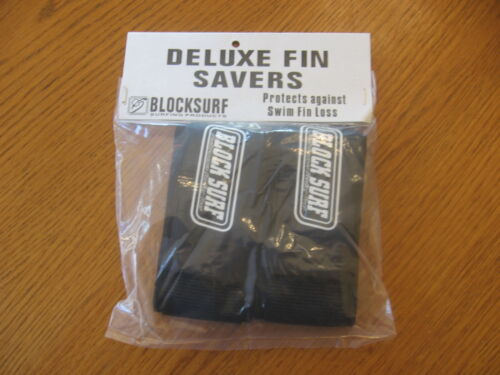 NEW pair Blocksurf Deluxe Fin Savers protects against swim fin loss