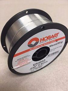 4 Spools! Hobart ER 4043 ALUMINUM Mig Wire .030 x 1LB SPOOL Maxal Mig Welding