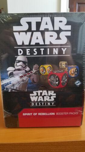 Star Wars Destiny Spirit of Rebellion Sealed Booster Box