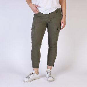Levi-039-s-711-Utility-Skinny-Ankle-Jeans-Refined-Kalama-Damen-Gruen-jeans-Groesse-W33