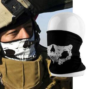 Multi-use-Skull-Bandana-Bike-Motorcycle-Scarves-Scarf-Neck-Face-Mask-YY