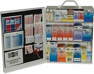 PAC-KIT 6155 Industrial Station First Aid Kit, 440 Items, Metal Case (PKT6155)