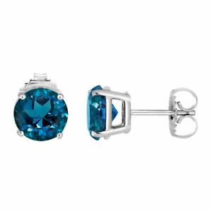 1-ct-London-Blue-Topaz-Round-Basket-Set-Stud-Earrings-in-Solid-Sterling-Silver