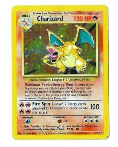Pokemon-Charizard-Base-Set-Unlimited-Holo-1999-RARE-Played-Card-VHTF-RARE-WOTC