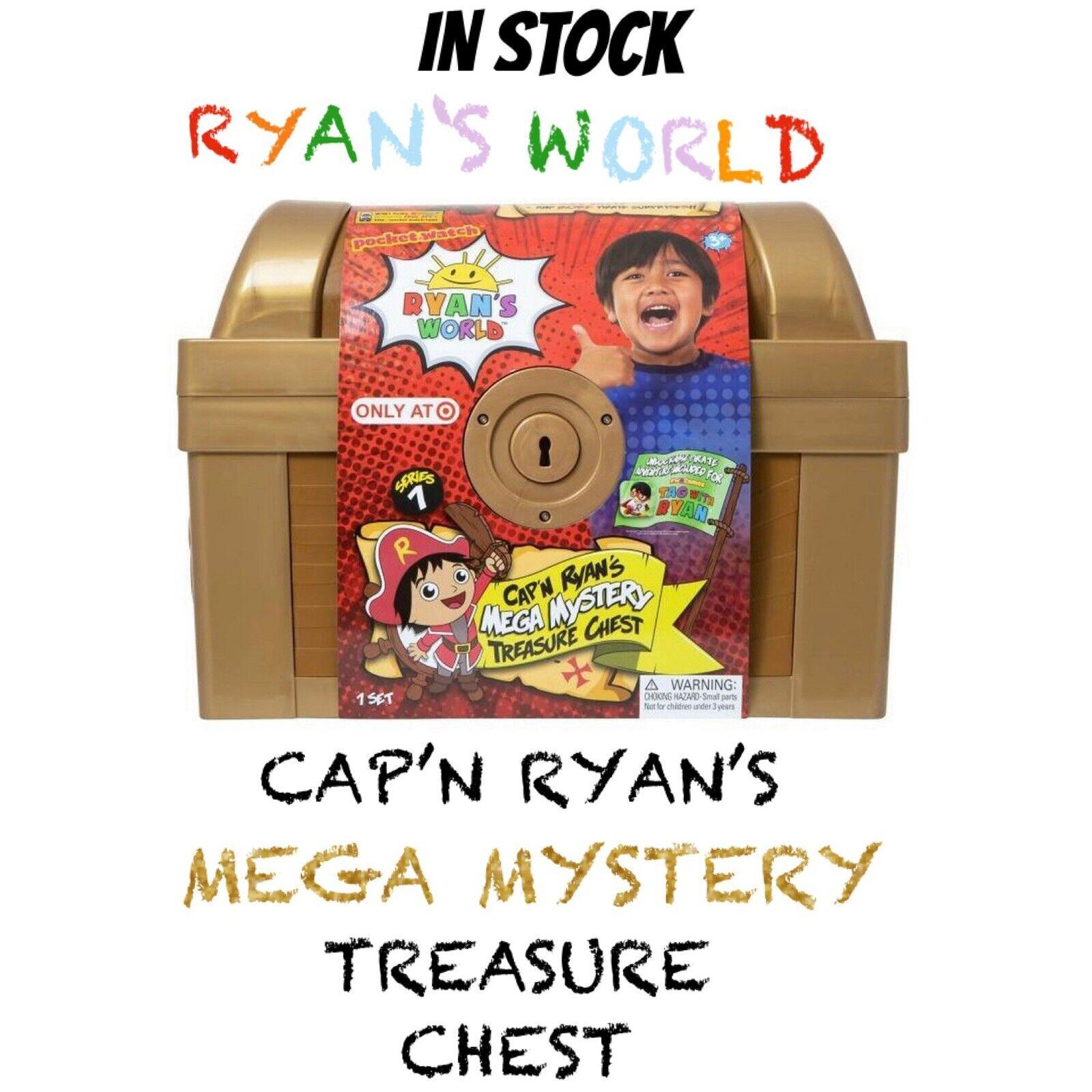 Ryan 'S Welt Kappe n' Ryan - Mega Mystery Schatz Truhe Neu 2019