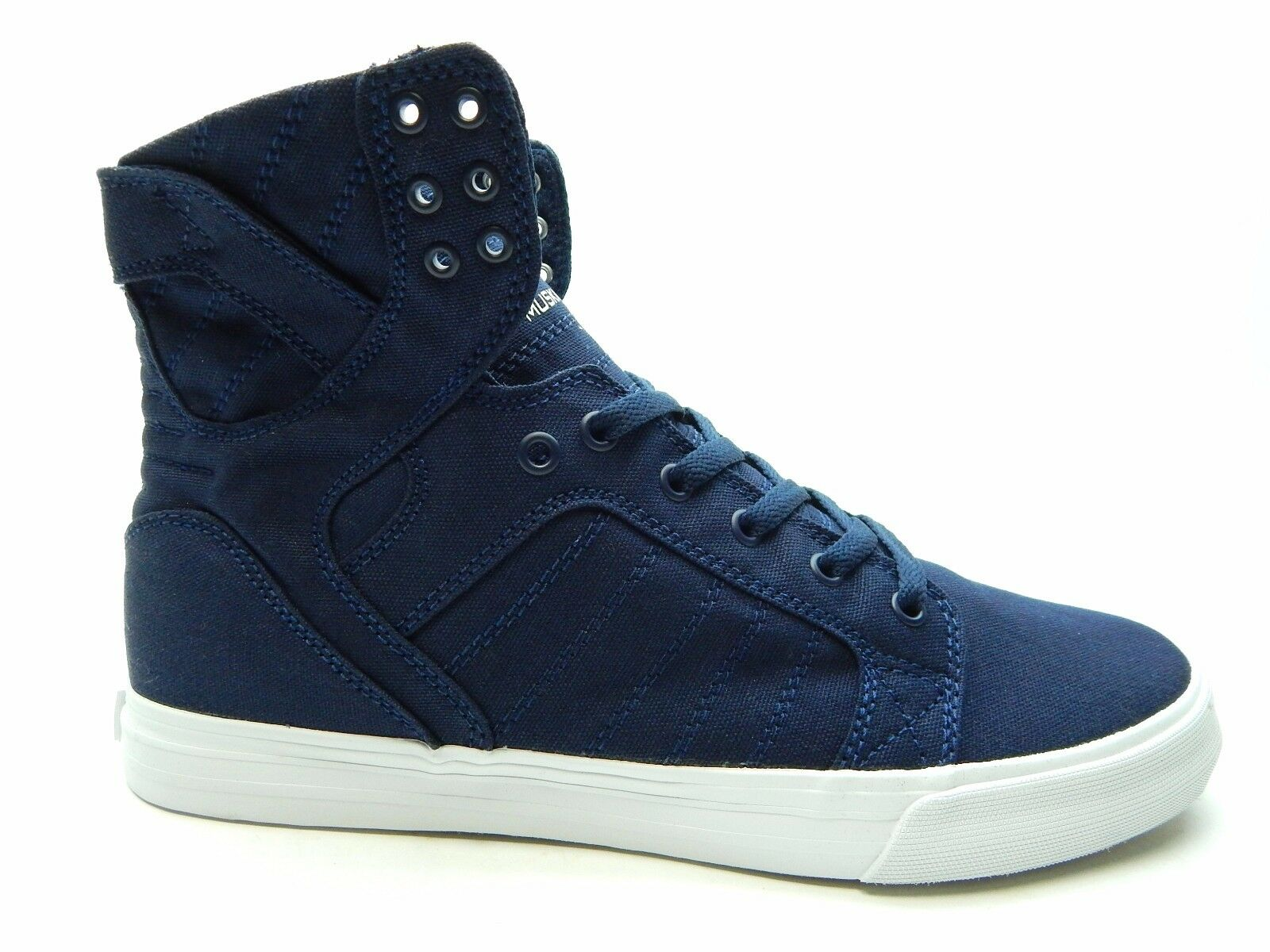 SUPRA SKYTOP D NAVY WHITE Uomo SHOES SIZE 8.5 TO 14  S98004