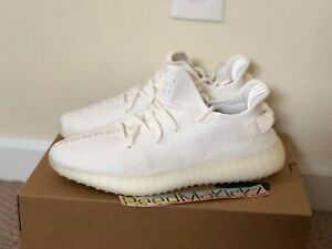fd1ad40d5fb1a Adidas Yeezy Boost 350 V2 Cream Triple White 2018 Mens CP9366 100 ...