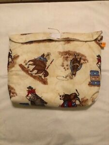 Breyer-traditional-pony-pocket-pouch-custom-model-horse-fabric-transport