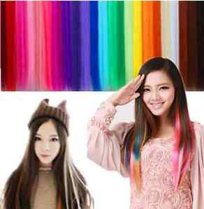 Fashion-Multi-Color-Hair-Extension-Piece-Clip-On-Hair-Long-Synthetic-Hair-CAD-EF