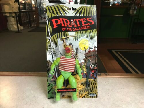 "2017 zoloworld PIRATES OF THE GALAXSEAS Crackers McCaw 5/"" Inch Figure Comme neuf on Card"
