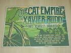 The Cat Empire & Xavier Rudd - 2017 Australian Tour Laminated Promo Poster