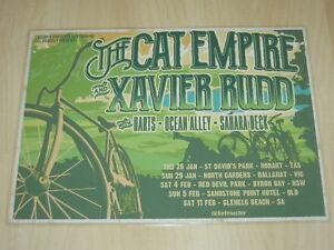 The-Cat-Empire-amp-Xavier-Rudd-2017-Australian-Tour-Laminated-Promo-Poster