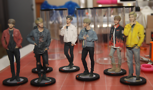 BTS Bangtan Boys Real Figure Limited Edition KPOP with Free