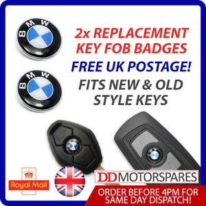 2-X-BMW-REMOTE-KEY-FOB-BADGE-LOGO-EMBLEM-STICKER-11MM-FOR-1-3-5-6-7-M3-M5-X5