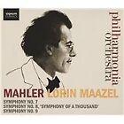 """Gustav Mahler - Mahler: Symphonies Nos. 7, 8 """"Symphony of a Thousand"""" & 9 (2015)"""