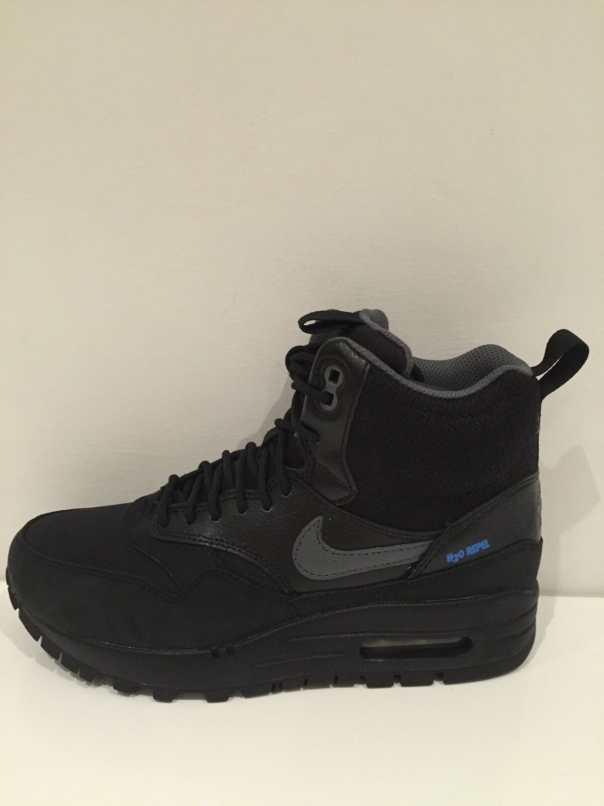 best service 2dce0 f9fd1 Nike Nike Nike Air Max 1 Sneakerboot taille 3 (UK) EntièreHommes t neuf  dans sa boîte 685225