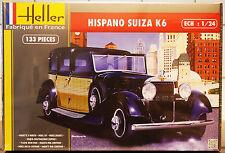 1933 Hispano Suiza K 6, 1:24, Heller 80704