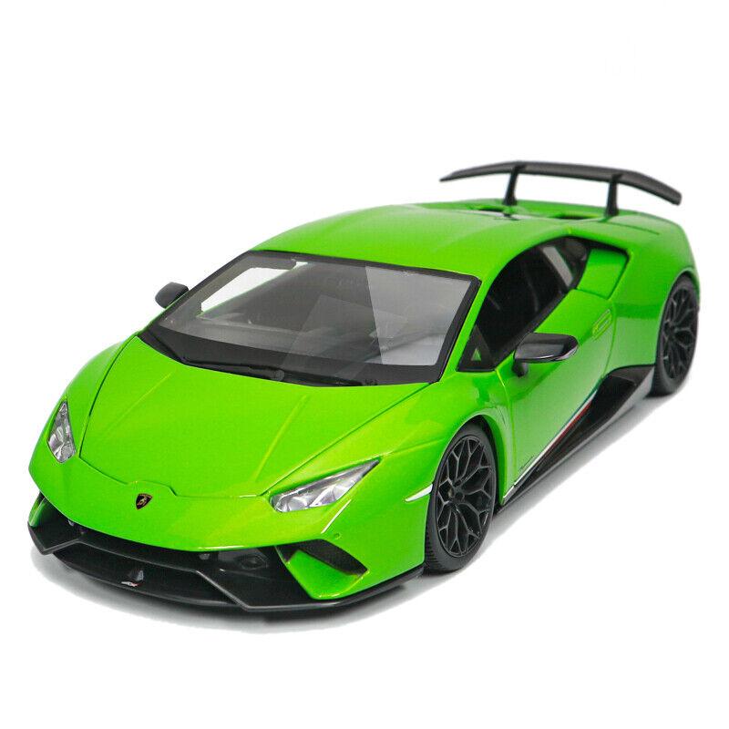 MAISTO 1 18 Lamborghini Huracan perforhommete Diecast  Modèle Voiture de Course Véhicule Neuf dans sa boîte  mode