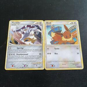 2 Pokemon Karten Evoli Flunkiffer 47/90 56/90 Deutsch Pokémon TCG Trading Card - Zerf, Deutschland - 2 Pokemon Karten Evoli Flunkiffer 47/90 56/90 Deutsch Pokémon TCG Trading Card - Zerf, Deutschland