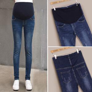 Détails sur Pantalon grossesse Jeans Maternité Femmes Enceintes Vêtements de maternité