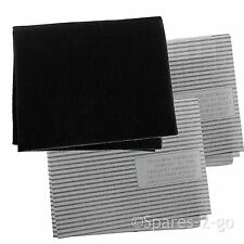Cooker Hood Filters Kit for ZANUSSI Extractor Fan Vent Grease Carbon Filter