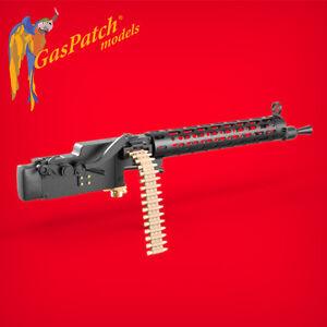 1/16 WWI Spandau 08/15 Machine Guns with Extended Loading Handle (2pcs, Resin)