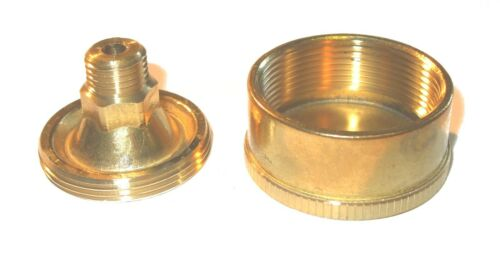 """Brass screw down grease cup 1//4/""""bsp x  40mm dia                 274804"""