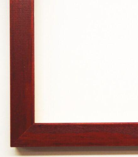 Bilderrahmen Wechselrahmen Modern Art Deco Rot gebeizt 14,0 Top Qualität