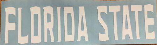 FLORIDA STATE FSU Seminoles vinyl digital cut car decal sticker 5 CHOICES