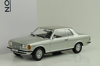 1980 Mercedes-Benz 280 CE W123 Coupe silver silber 1:18 Norev