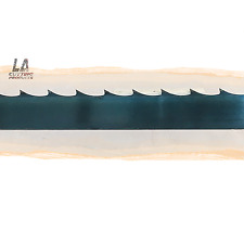 "111"" (9'-3"") x 1.25"" x .042"" x 7/8 GT Carbon Steel Wood Mill Band Saw Blade"