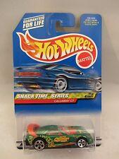 Hot Wheels  2000-013   Callaway C7   Green  1/4  NOC   1:64 scale  (2)  26012