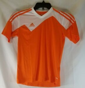 Details about Adidas Performance Orange Soccer Jersey Toque 13 Youth Medium NEW