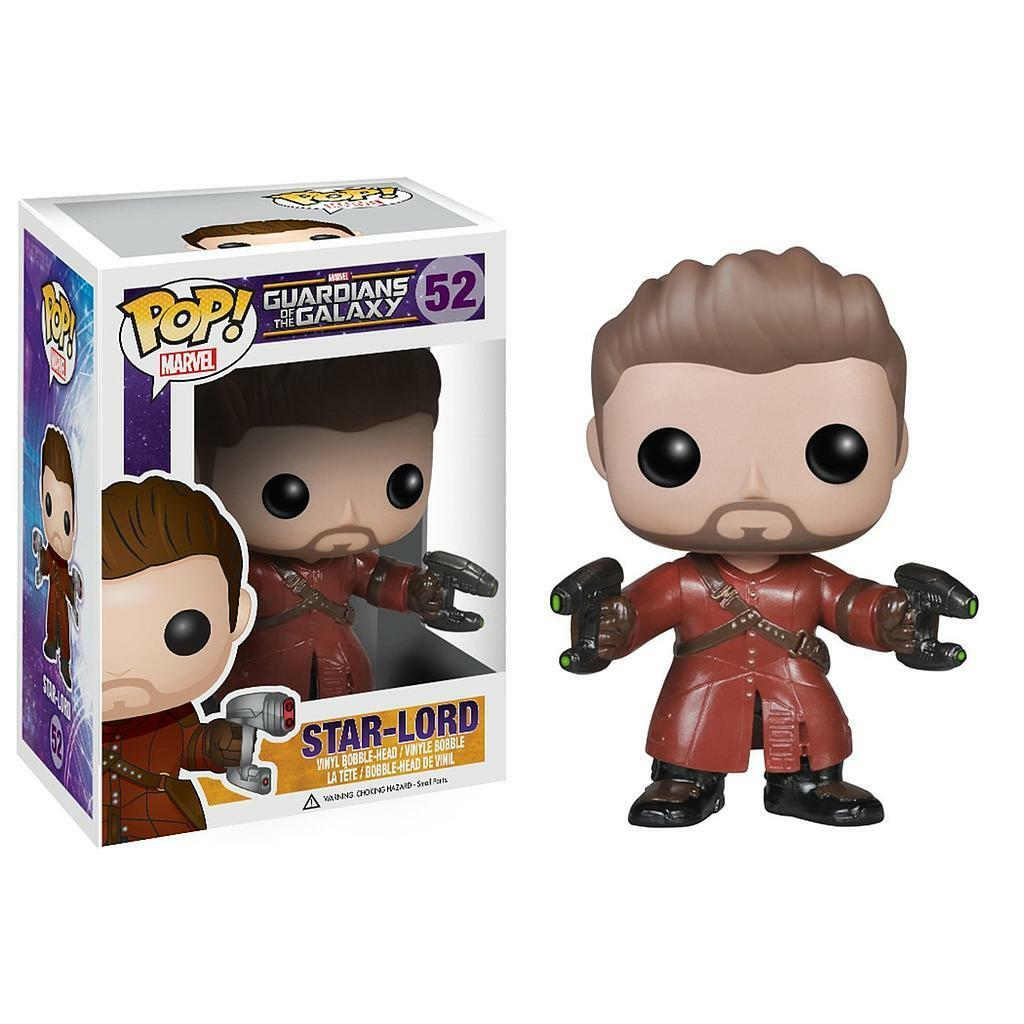 FUNKO POP STAR-LORD 52 GUARDIANS OF THE GALAXY MARVEL FIGURE 9 CM CINEMA