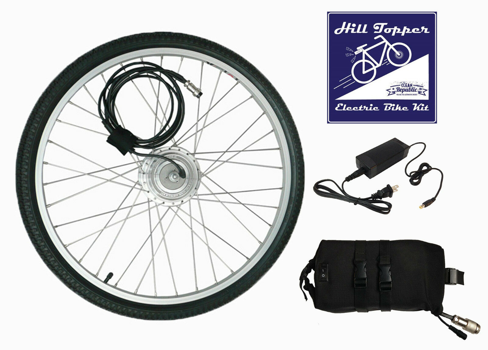 Lithium electric bike conversion kit WITH 20 mile battery