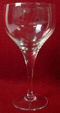 "ROSENTHAL crystal LOTUS PLAIN pattern RED WINE Glass 6"" inches"