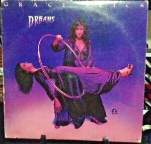 GRACE-SLICK-Dreams-Album-Released-1980-Vinyl-Record-Collection-US-pressed