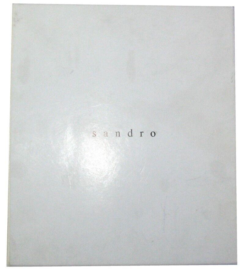 SANDRO TURNSCHUHE TURNSCHUHE TURNSCHUHE MODELL AMANDINE LEDER SCHWARZ & GRAU 40 HERVORRAGENDER ZUSTAND    236f75
