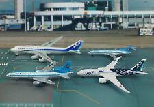 All Nippon Airways ANA B 747 L-1011 787 727 Plane 1:1000 Model Set 4 K1253