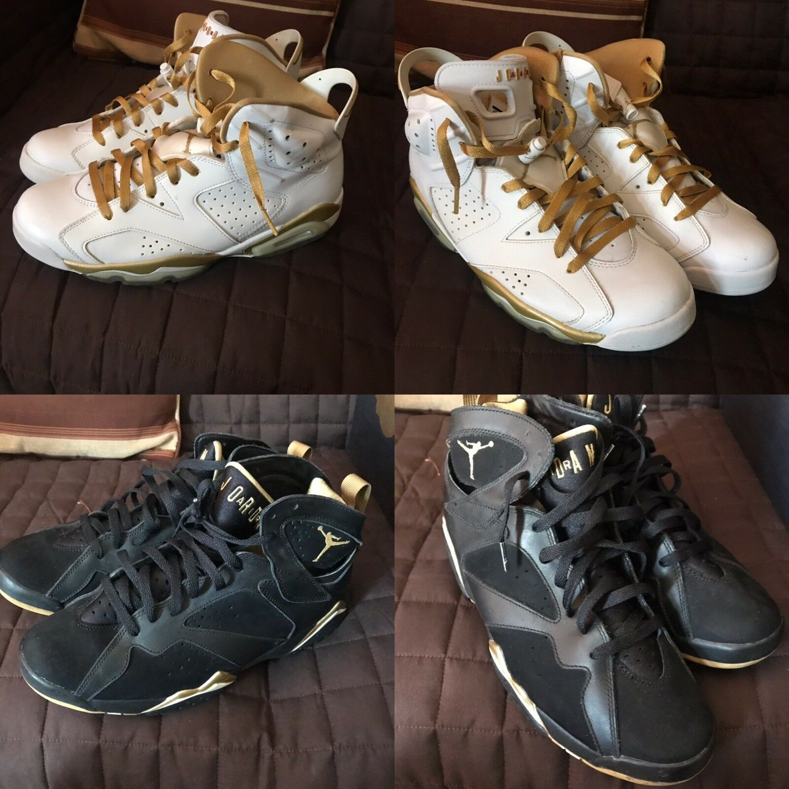 online store b6fa4 78455 NIB Jordan Golden Moments Pack (6 7) - Größe 10.5 10.5 10.5 425828