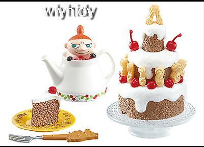 Miniatures MOOMIN Homestyle Dishes Fun dining table Set #8 ,1pc only - Re-ment