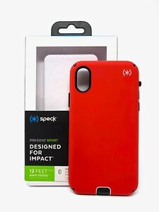 the best attitude 6fa7d b667d Details about New Authentic Speck Presidio Sport Case Cover for iPhone X  IPhone XS - Red