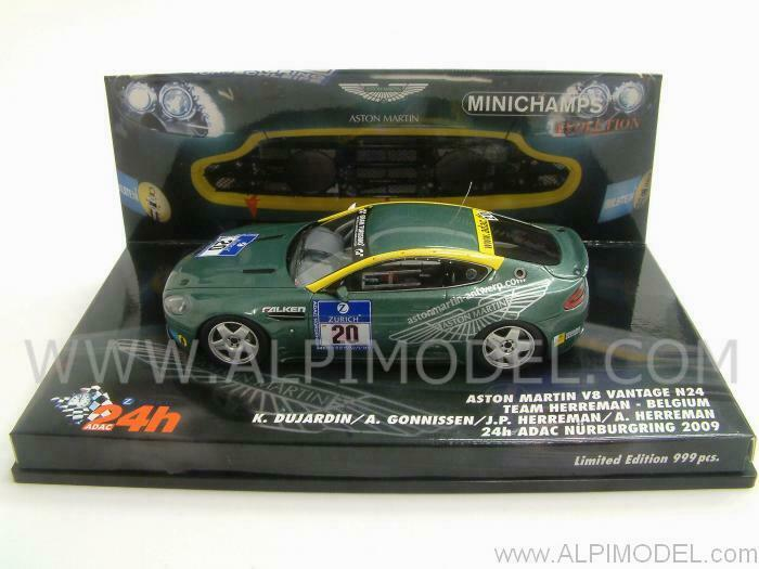 Aston Martin N24 24h Nurburgbague 2009 Herrehomme  - Herr 1 43 MINICHAMPS 437091320  promotions passionnantes