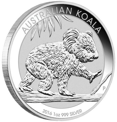2016 1oz Australian Silver Koala .999 Fine BU