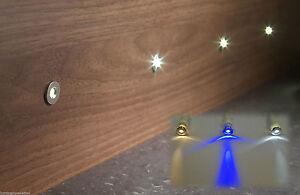 X LED KITCHEN PLINTH LIGHTS KICK BOARDS COOL WARM WHITE OR BLUE - Kitchen plinth lights white